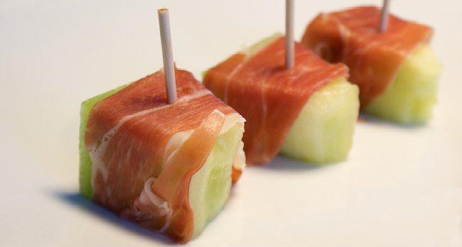 Ricetta: prosciutto iberico col melone