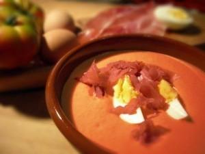 Ricetta: 'Salmorejo' con prosciutto iberico